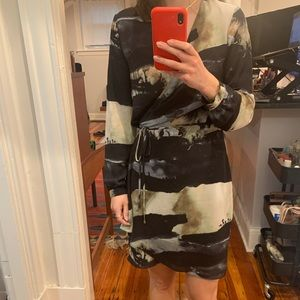Aritzia Wrap-tie Dress